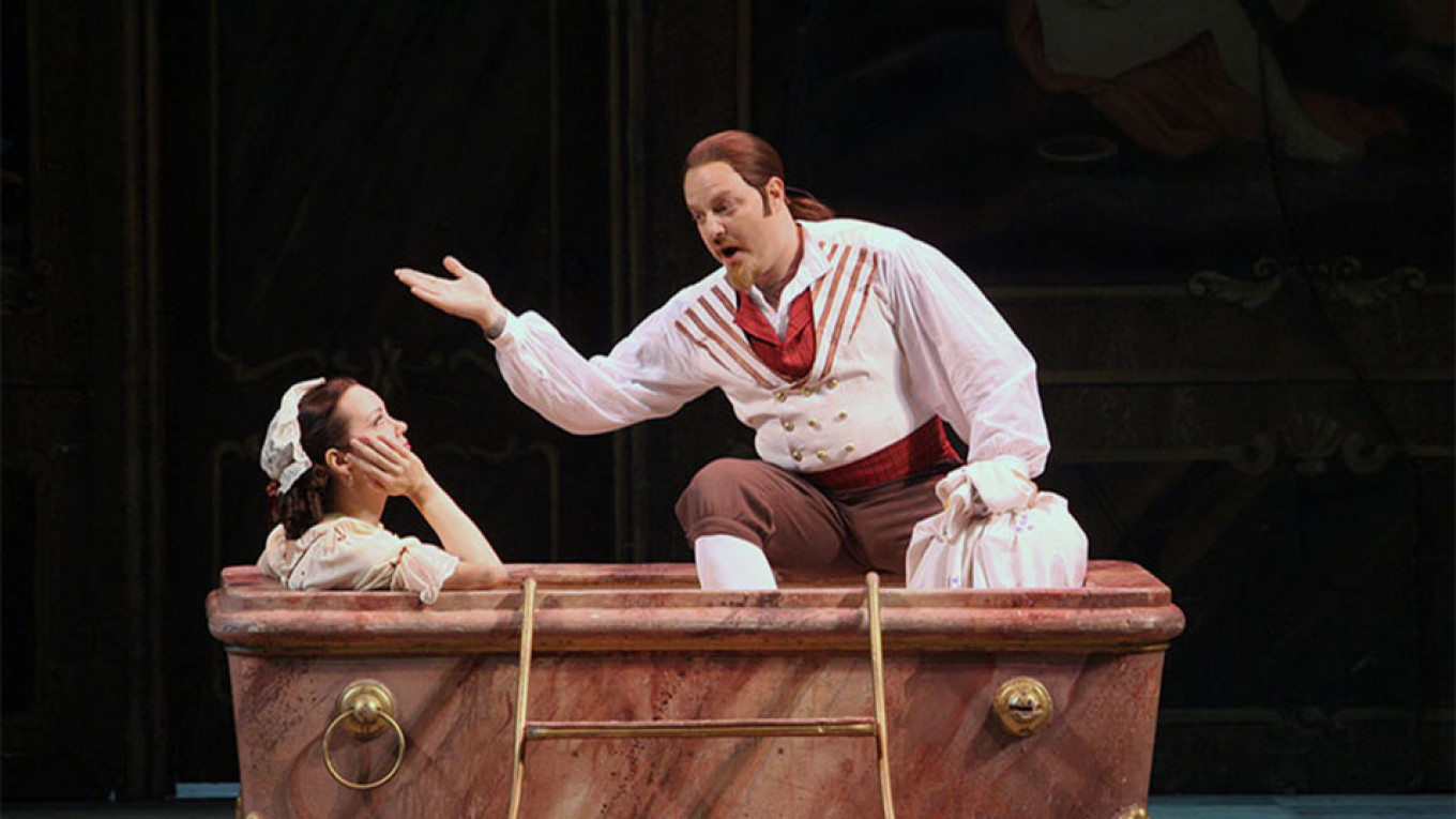 Enjoy Mozart at the finest theater in the city  Courtesy of Mariinsky Theater