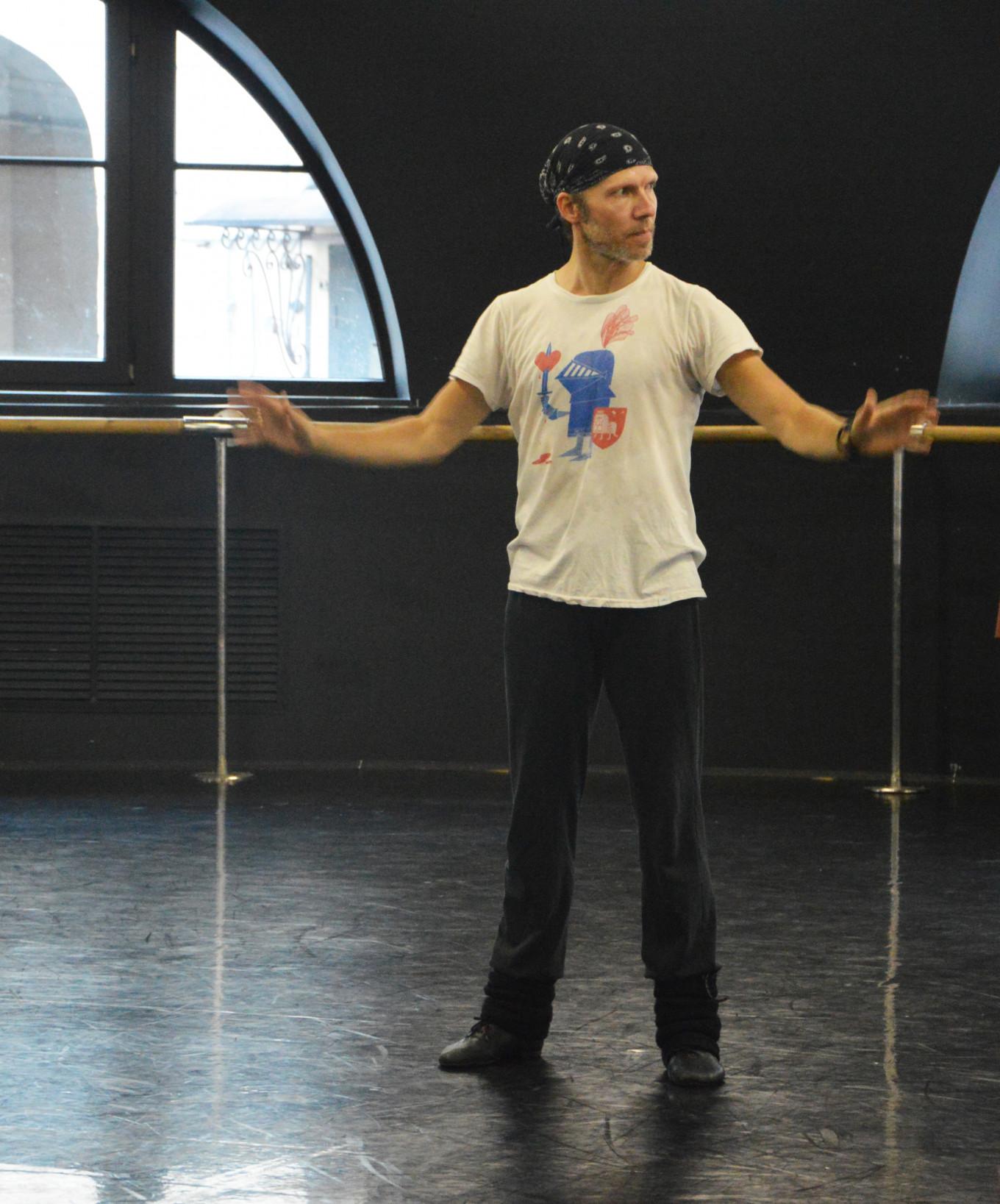 Kobborg found his second wind in St. Peterburg's ballet world. Press Service Leonid Yakobson Ballet Theater