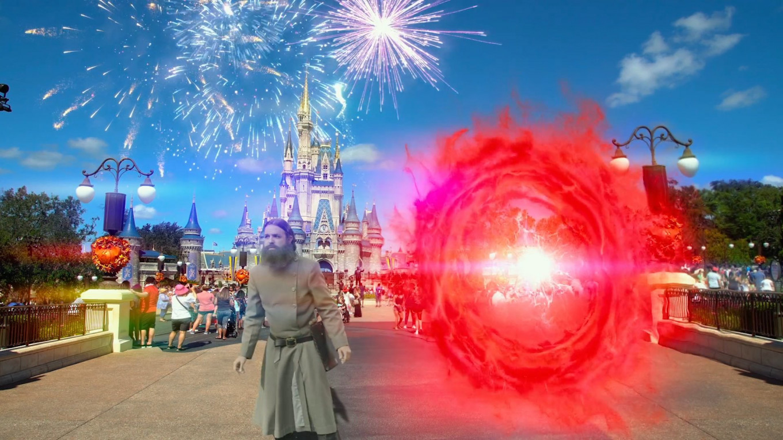 Time-traveling Rasputin accidentally teleports to Disneyland. Freestyle Digital Media