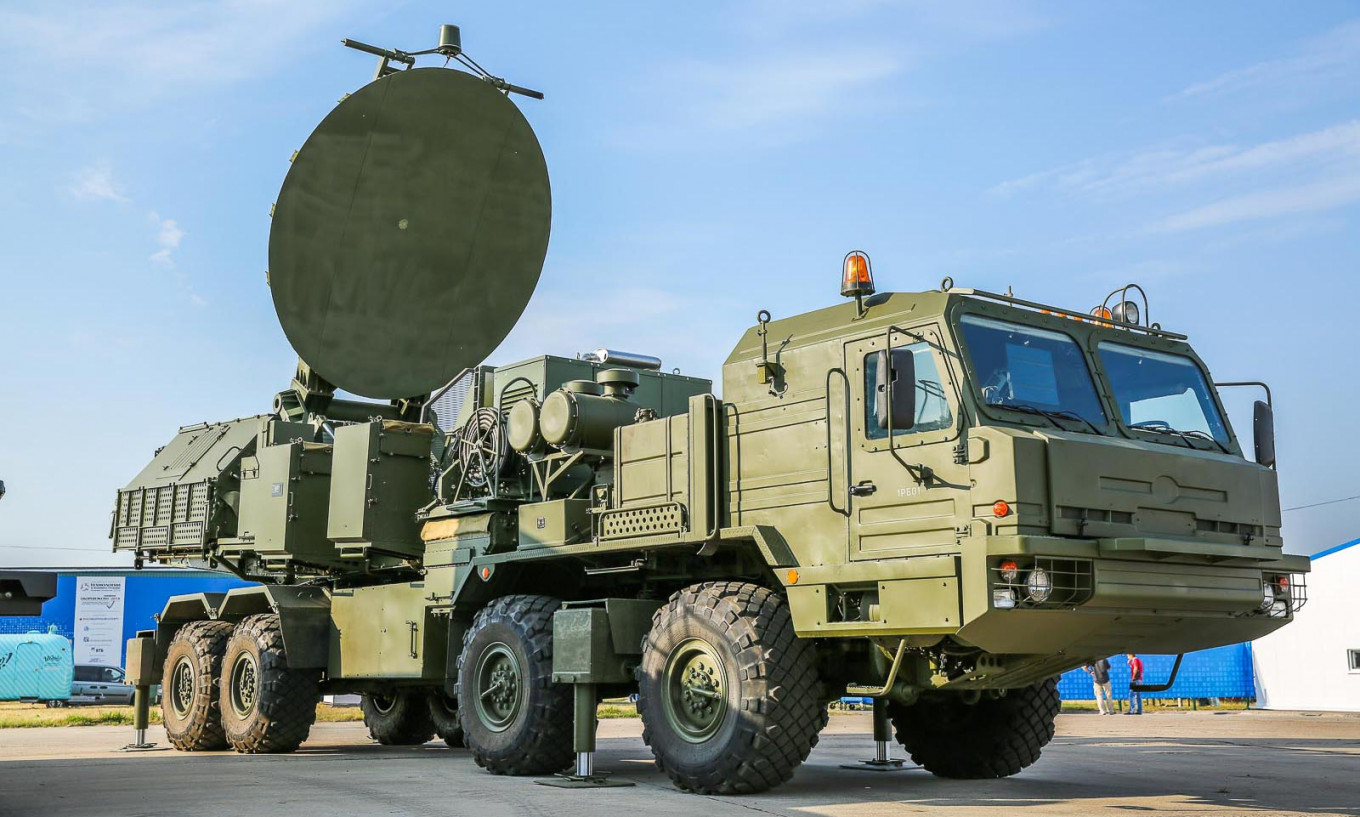 Russian Radio-Electronic Shield Now Covers the Arctic