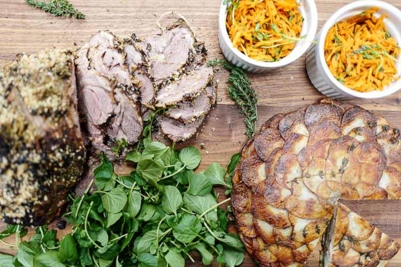 Breaking the Lenten fast in delicious style. Jennifer Eremeeva / MT