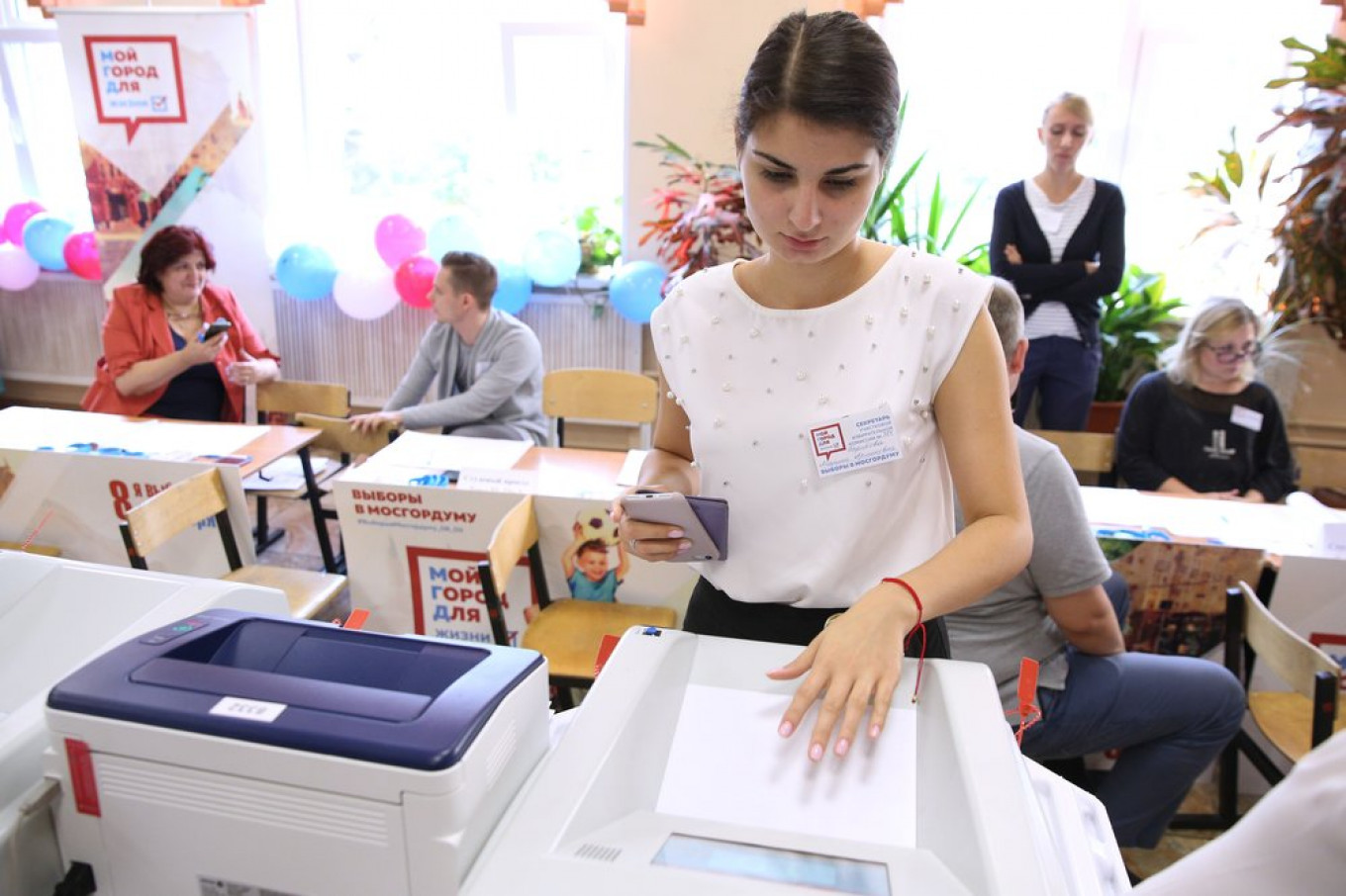 Next year's regional elections will be a model for Duma and presidential elections in 2021 and 2024. Kirill Zykov / Moskva News Agency