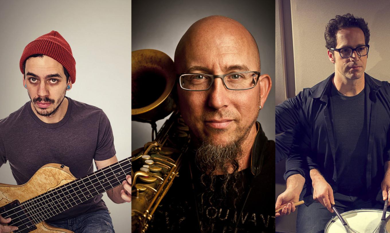 Felix Pastorius, Jeff Coffin and Jordan Perlson are The Viridian Trio. viridiantrio.com