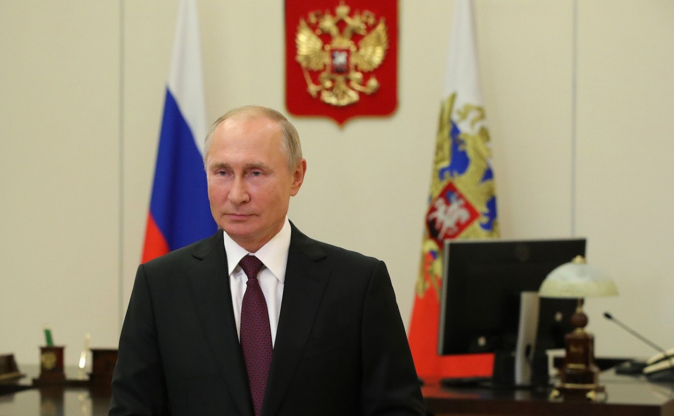 Putin Says Belarus Facing 'Unprecedented External Pressure' - The Moscow Times