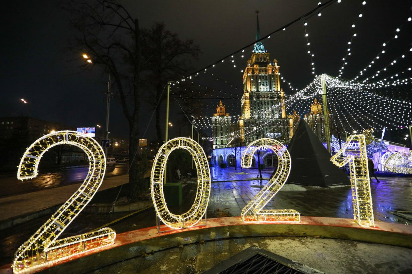Moscow prepares for 2021