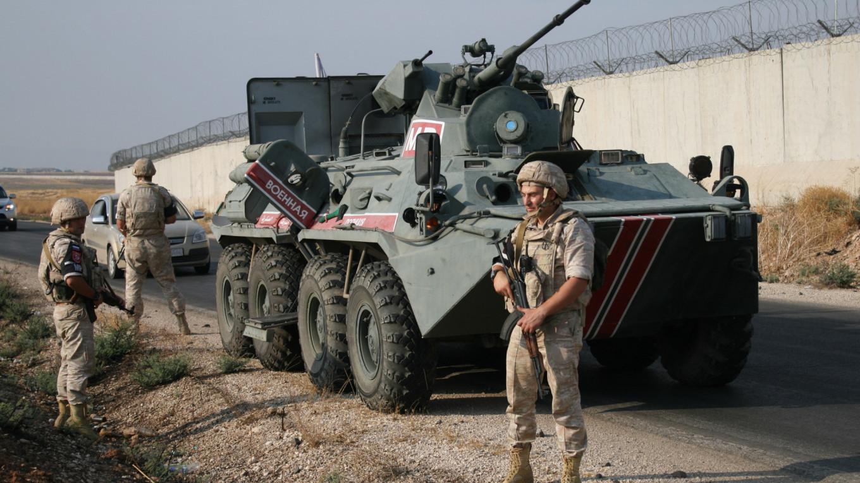 Russian military police in Syria. Sergei Novikov / TASS