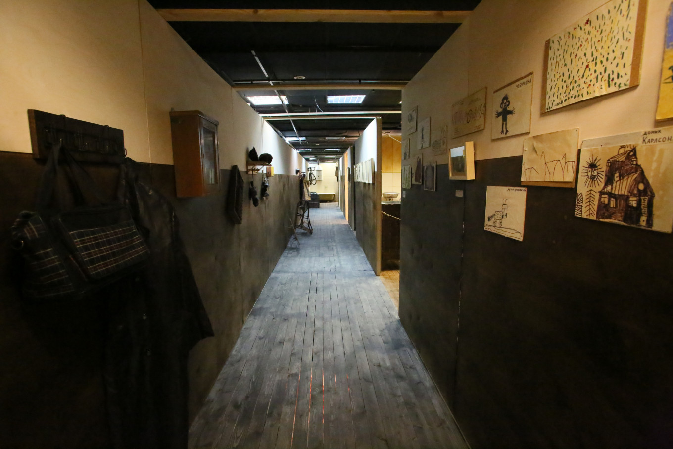 A long communal apartment hallway familiar to many older Muscovites. Museum of Moscow Press Service