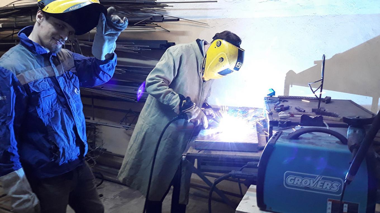 Try your hand at welding in Ivleva's studio / Dmitry Vasin / MT
