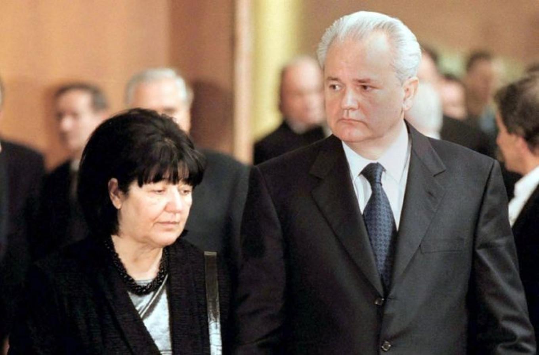 Mirjana Markovic and Slobodan Milosevic EPA / TASS