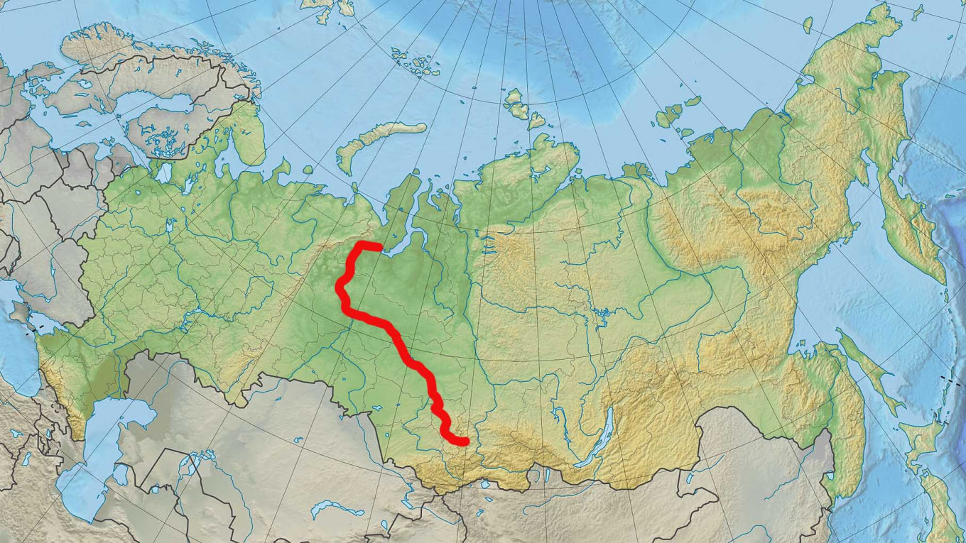 Image of: Russia S Largest Rivers From The Amur To The Volga The Moscow Times