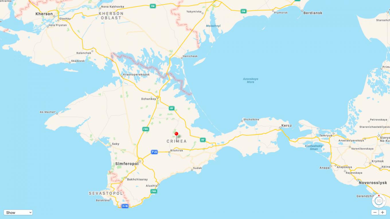 Screenshot Apple Maps