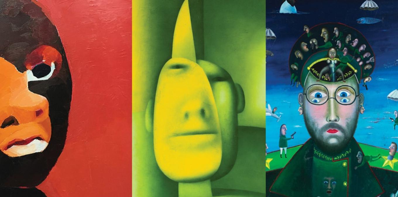 works by Natalia Turnova, Oleg Tselkov and Leonid Purygin AZ Museum