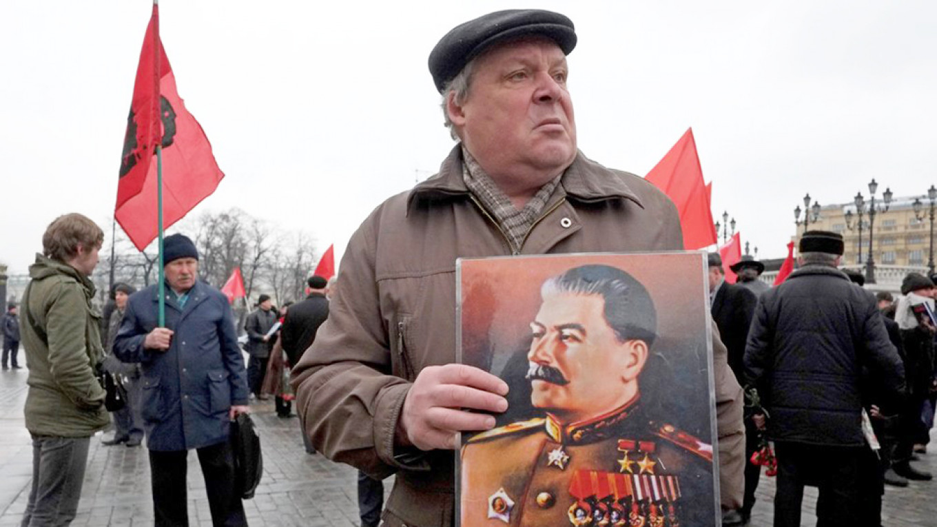 Stalin's Approval Rating Among Russians Hits Record High