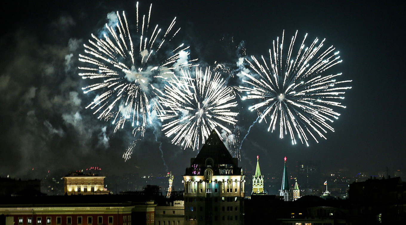 Firework displays are planned all over the city. Mikhail Tereshchenko / Moskva News Agency