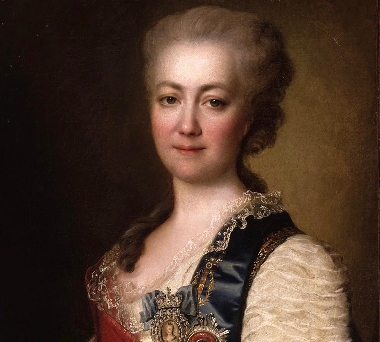 Ekaterina Dashkova, late 1700s Dmitry Levitsky