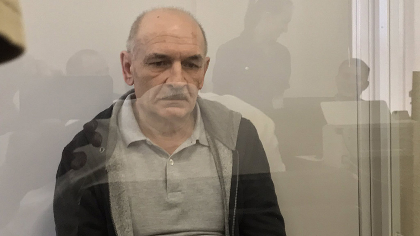 The swap hinged on the release of Vladimir Tsemakh, a witness in the MH17 investigation.				 				Maryan Kushnir / Twitter