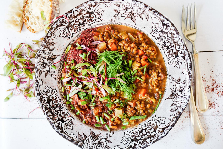 French lentil soup Jennifer Eremeeva / MT