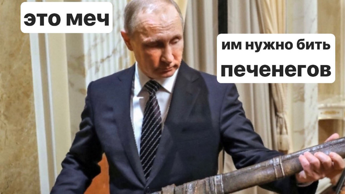 Putin Sets Off Russian Meme Storm After Comparing Medieval
