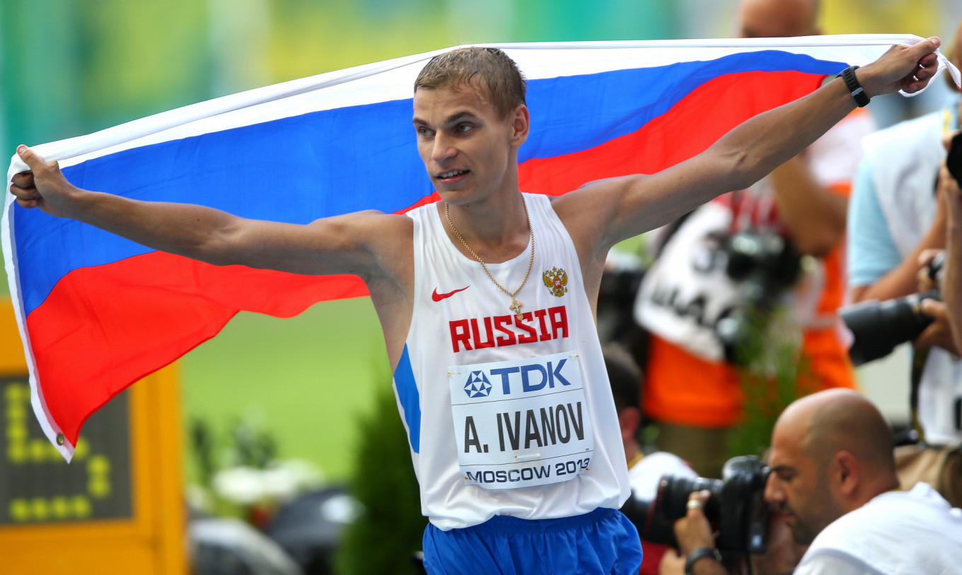 Athletics-Russian Race Walker to Be Stripped of Medals Over Doping