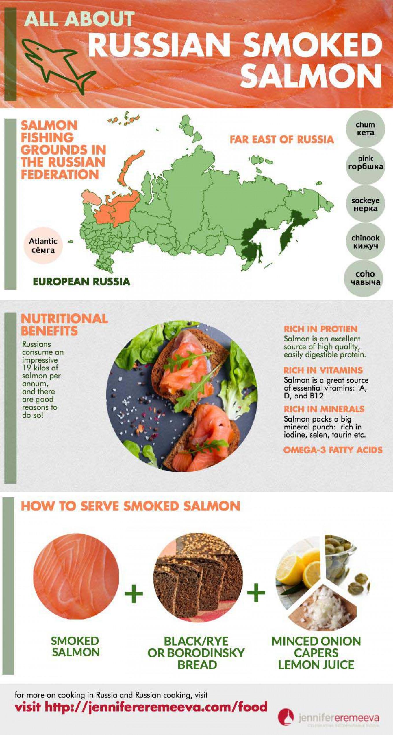 Russia and salmon: a love story  Jennifer Eremeeva / MT