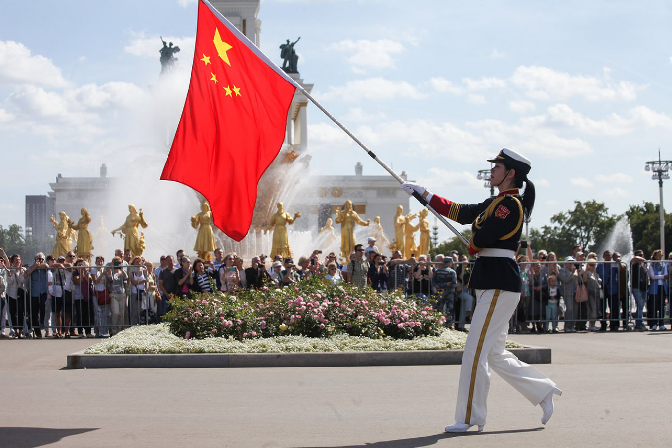 Russia Hosts International Military Band March-Off - The