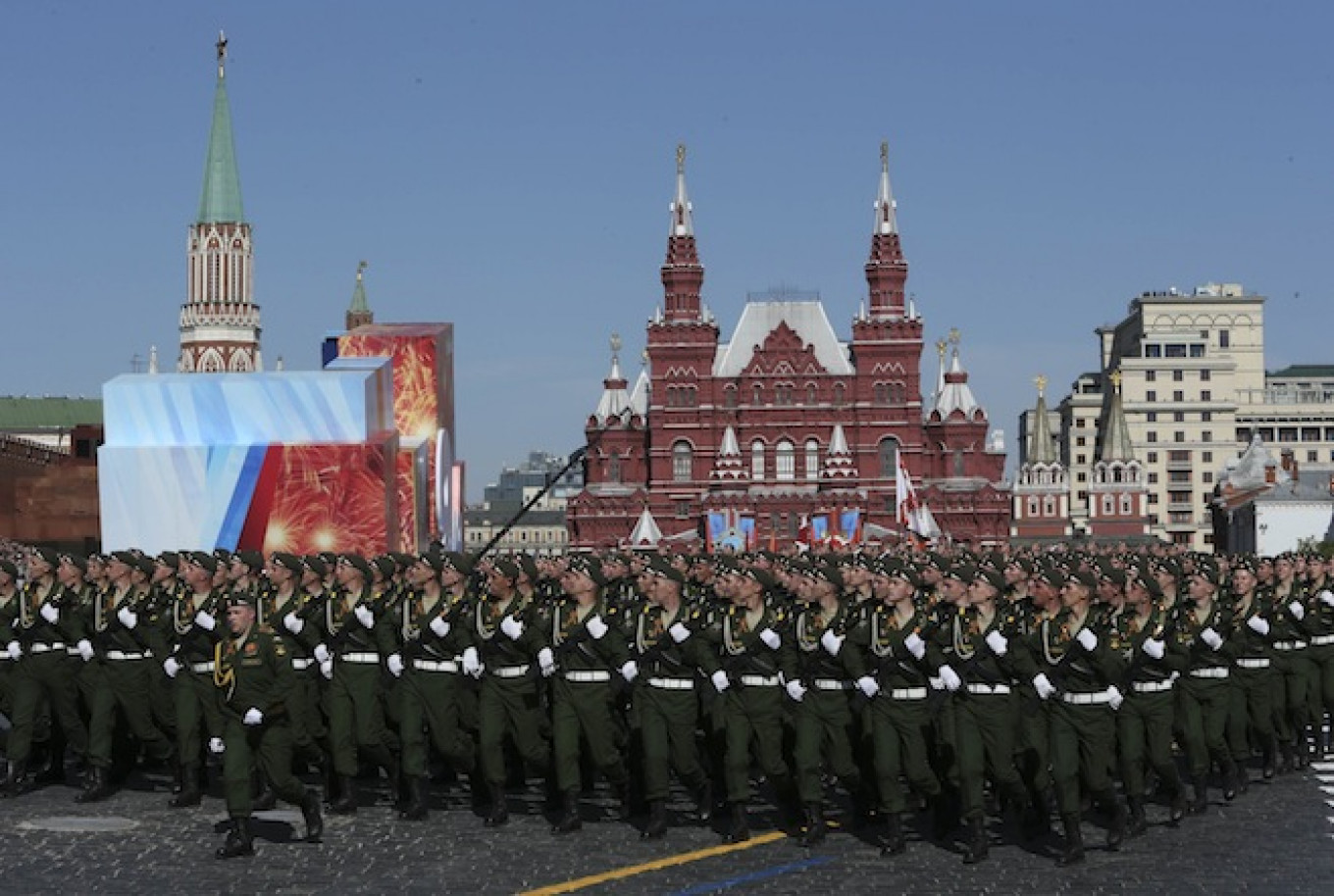 Russia Stages Largest Victory Day Celebrations in 20 Years