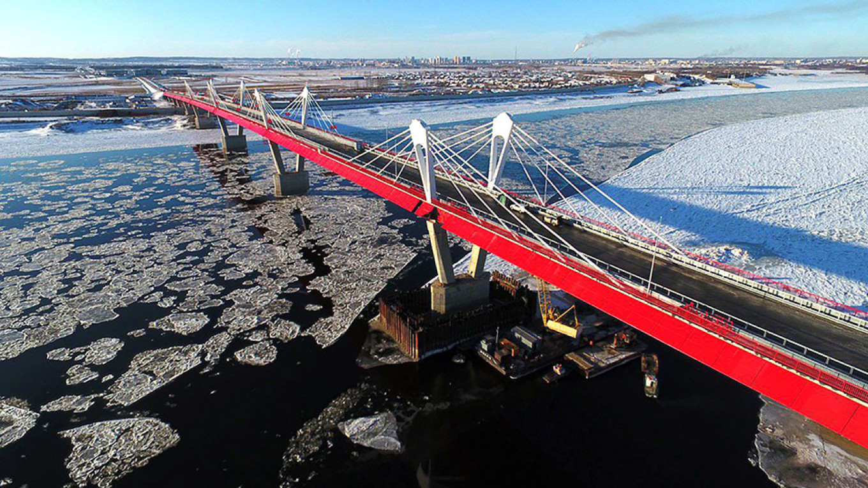 Russia and China complete border crossing bridge зурган илэрцүүд