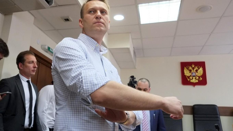 Opposition leader Alexei Navalny. Moskva News Agency