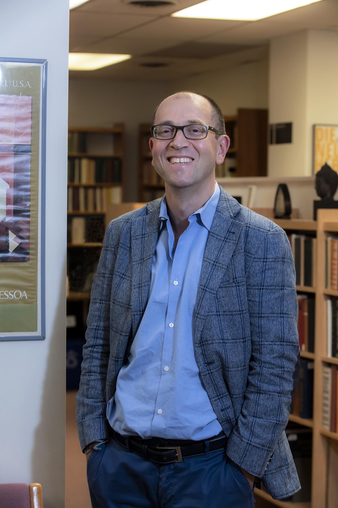 Author Maxim Shrayer Courtesy of Lee Pellegrini