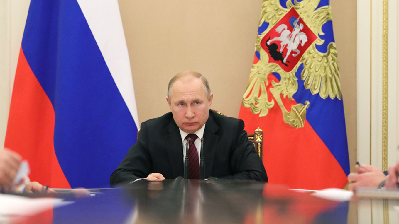 What Is Russian President Vladimir Putin Afraid Of The Moscow Times