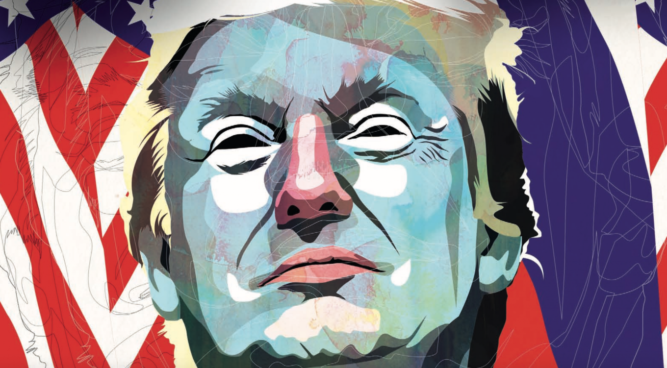 The election of Trump brought us a grave new world, suggested Matthew Bodner Galina Gubchenko