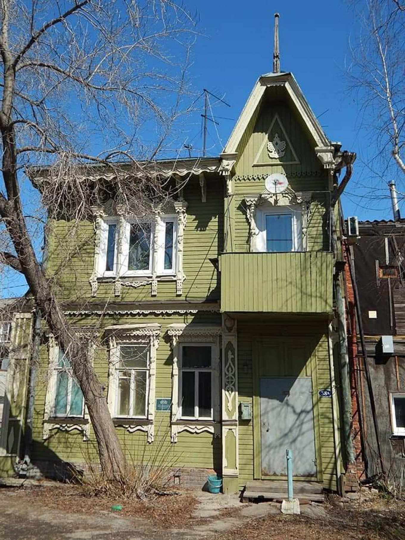 One of the first renovated houses in Samara Tom Sawyer Fest