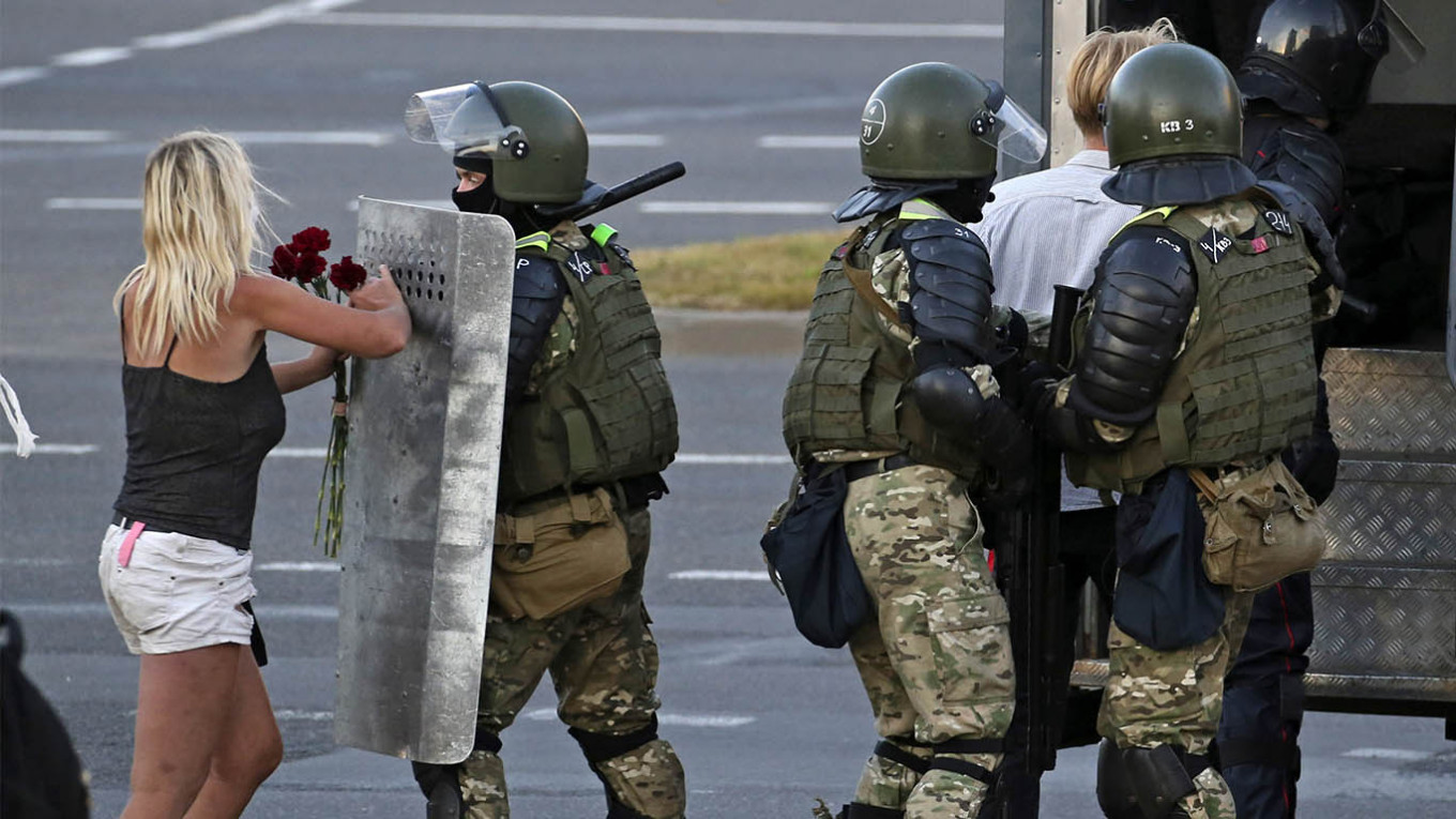Russian Media Responds To Belarus Protest Crackdown The Moscow Times