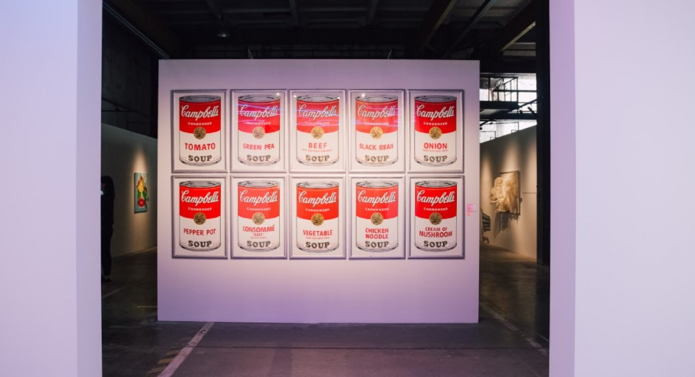 """""""Campbell's Soups"""" by Andy Warhol Courtesy of the Andy Warhol Foundation"""