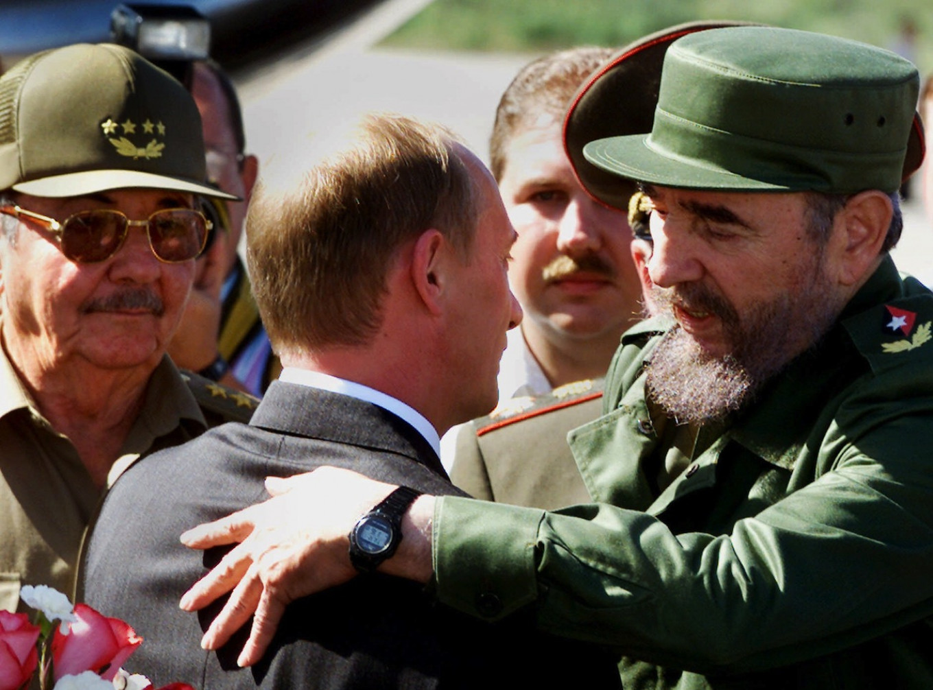 Since the Soviet collapse of 1991, the myth of Cuba may have lost some of its luster. Jose Goitia / AP