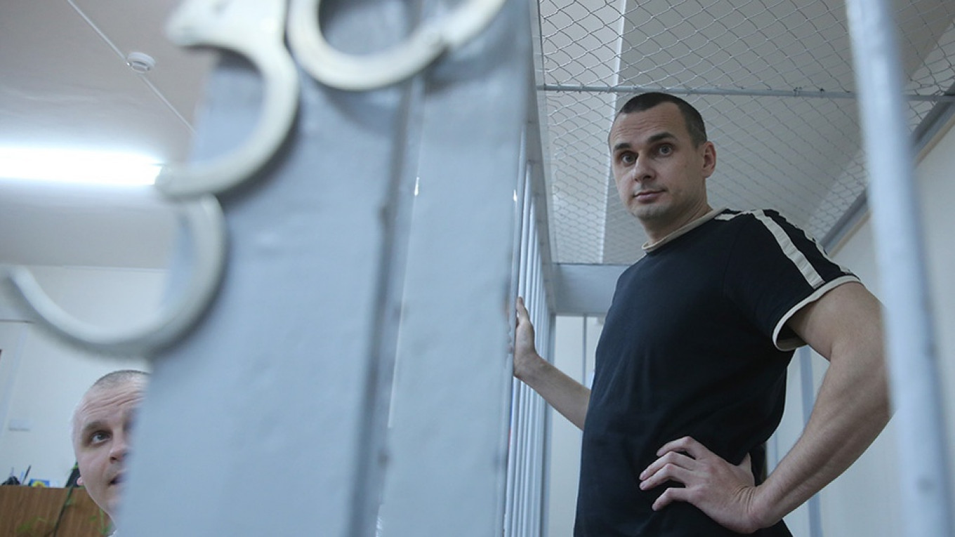 Crimean fillmmaker Oleg Sentsov spent 145 days on hunger strike in an Arctic penal colony. 				 				Sergei Fadeichev / TASS