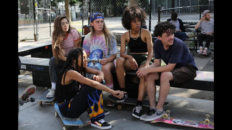 "Skateboard culture in ""Skate Kitchen"" YouTube"