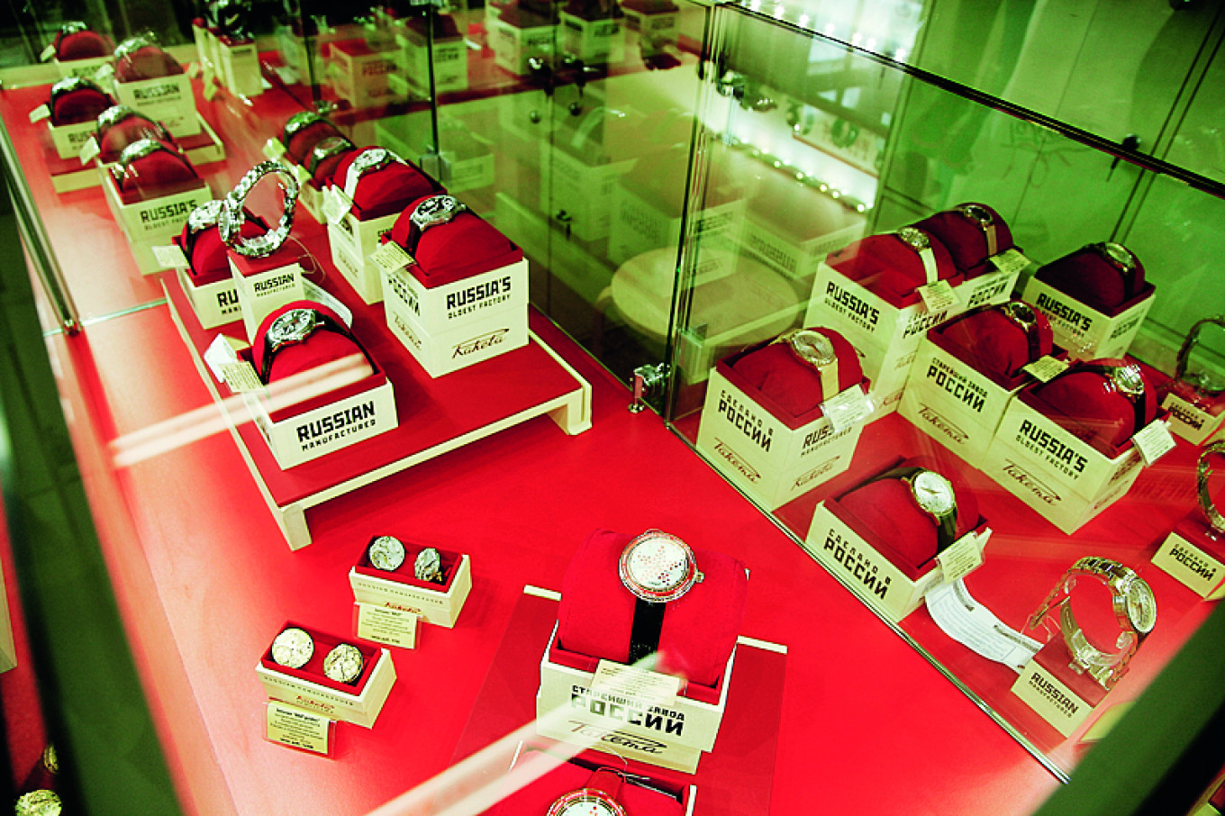 The average price of a Raketa watch has soared 100-fold since von Polier took over. Petrodvorets Watch Factory