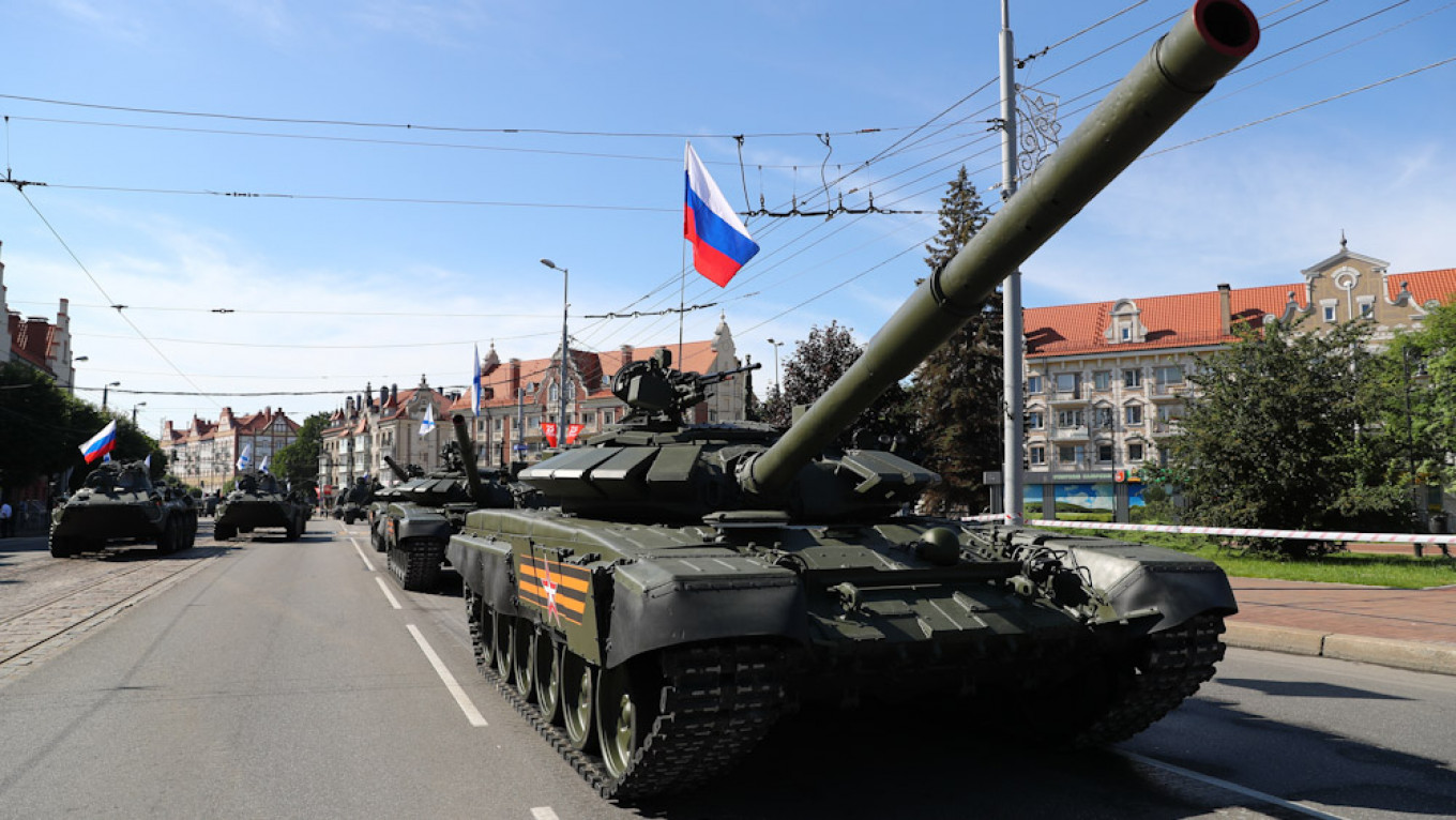 Russia Bolsters Military Forces in Baltic Exclave Amid NATO Fears - The Moscow Times