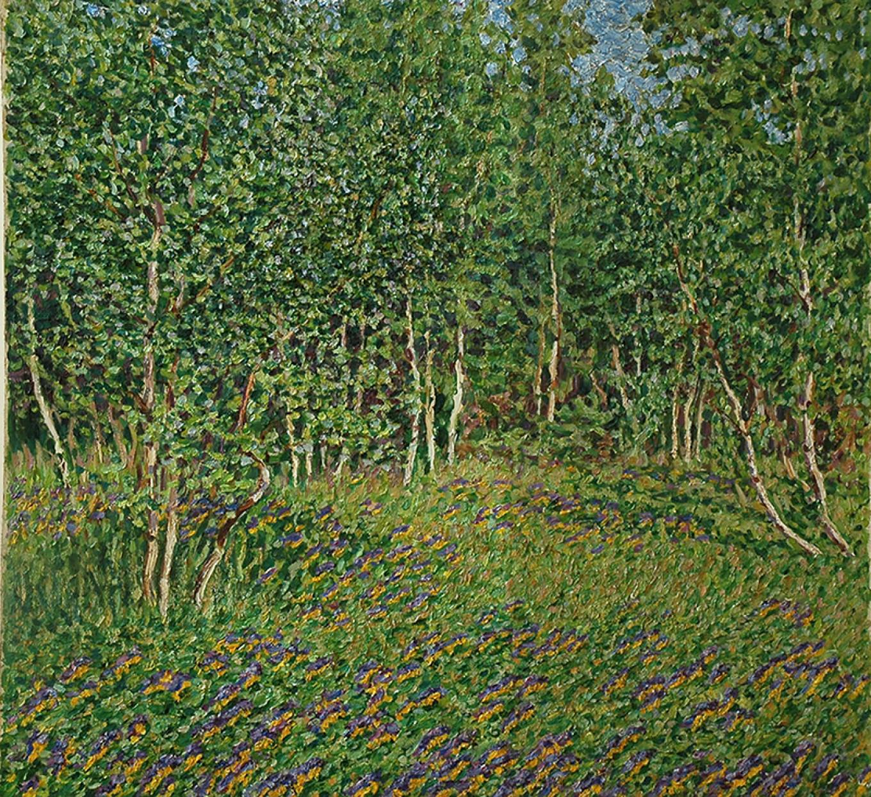 """Field,"" 1914 Courtesy of State Museum of Fine Arts, Republic of Tatarstan"