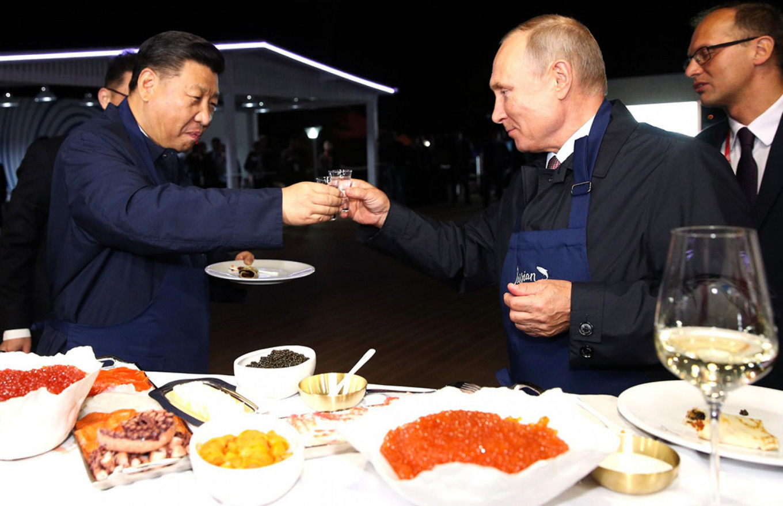 Putin and Xi Jinping  Kremlin.ru