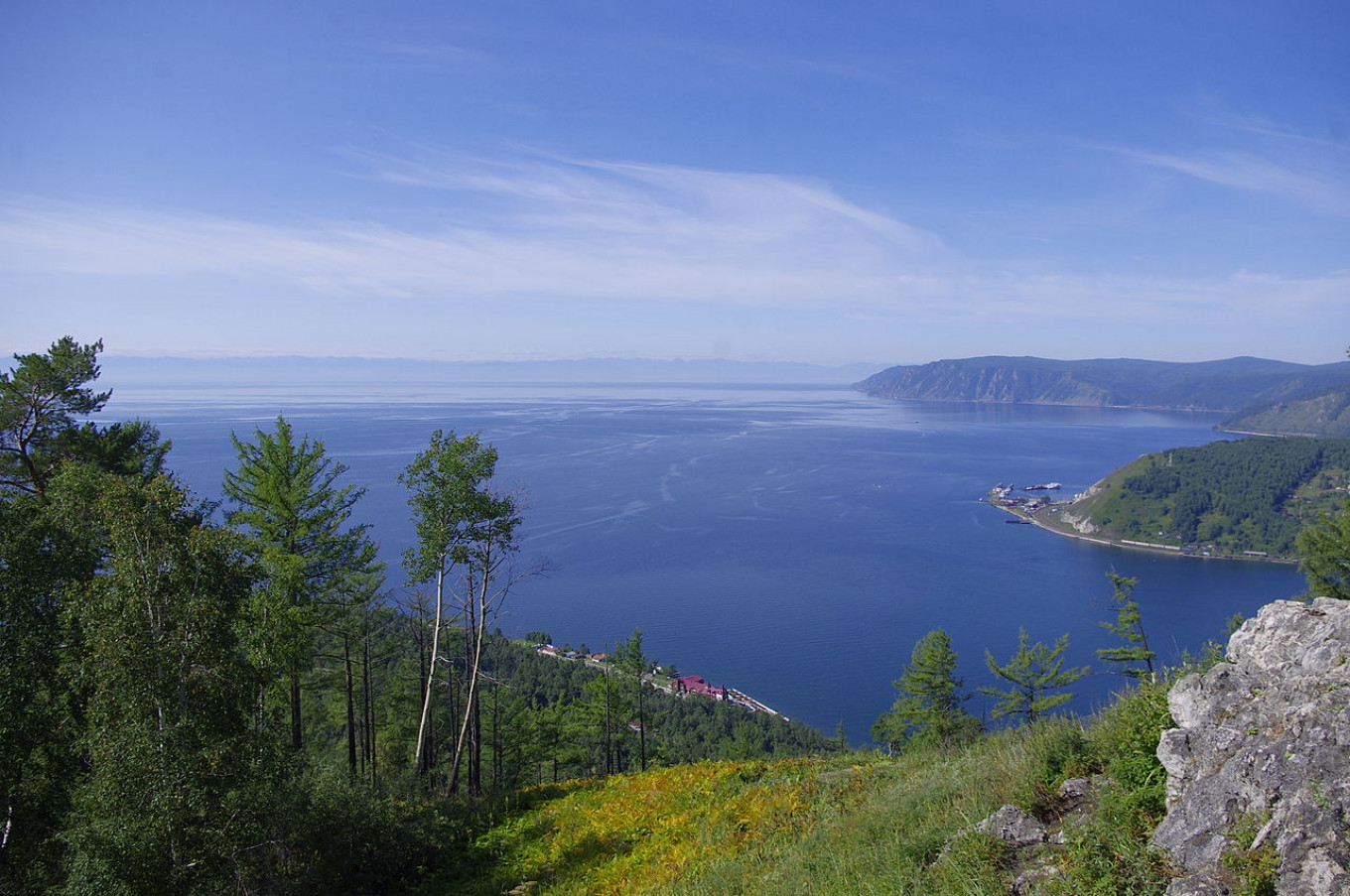 Russian swimmers complete eco-relay across Lake Baikal