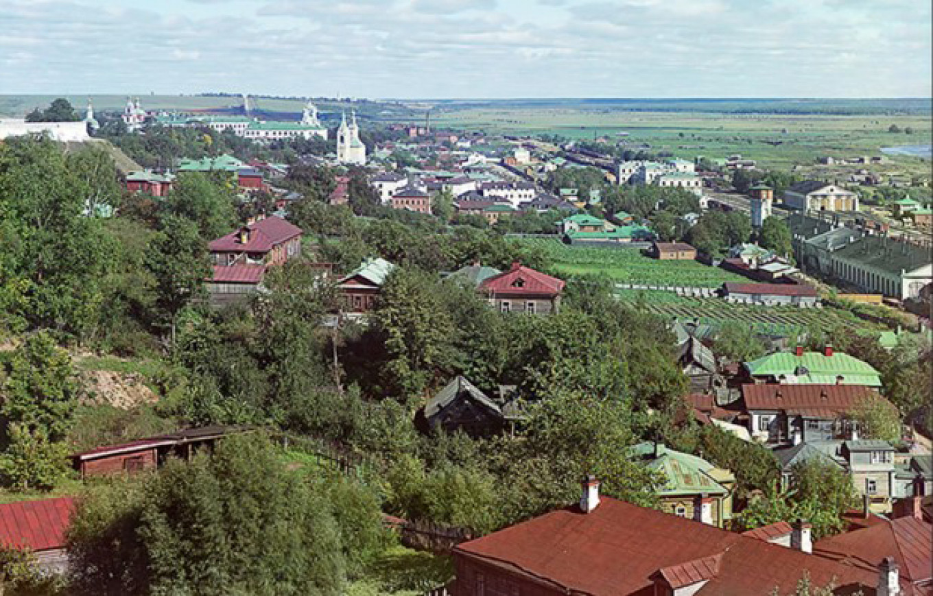 View of Vladimir by Prokudin-Gorsky, 1911
