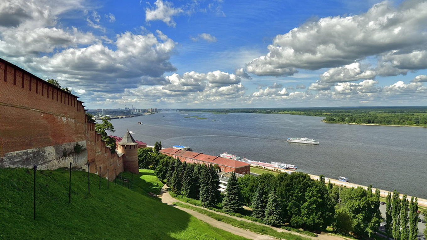 The Volga River				 				Kolya Sanich / Flickr (CC BY-ND 2.0)