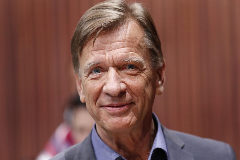 Hakan Samuelsson, president and CEO of Volvo Car Group. Paul Sancya / AP