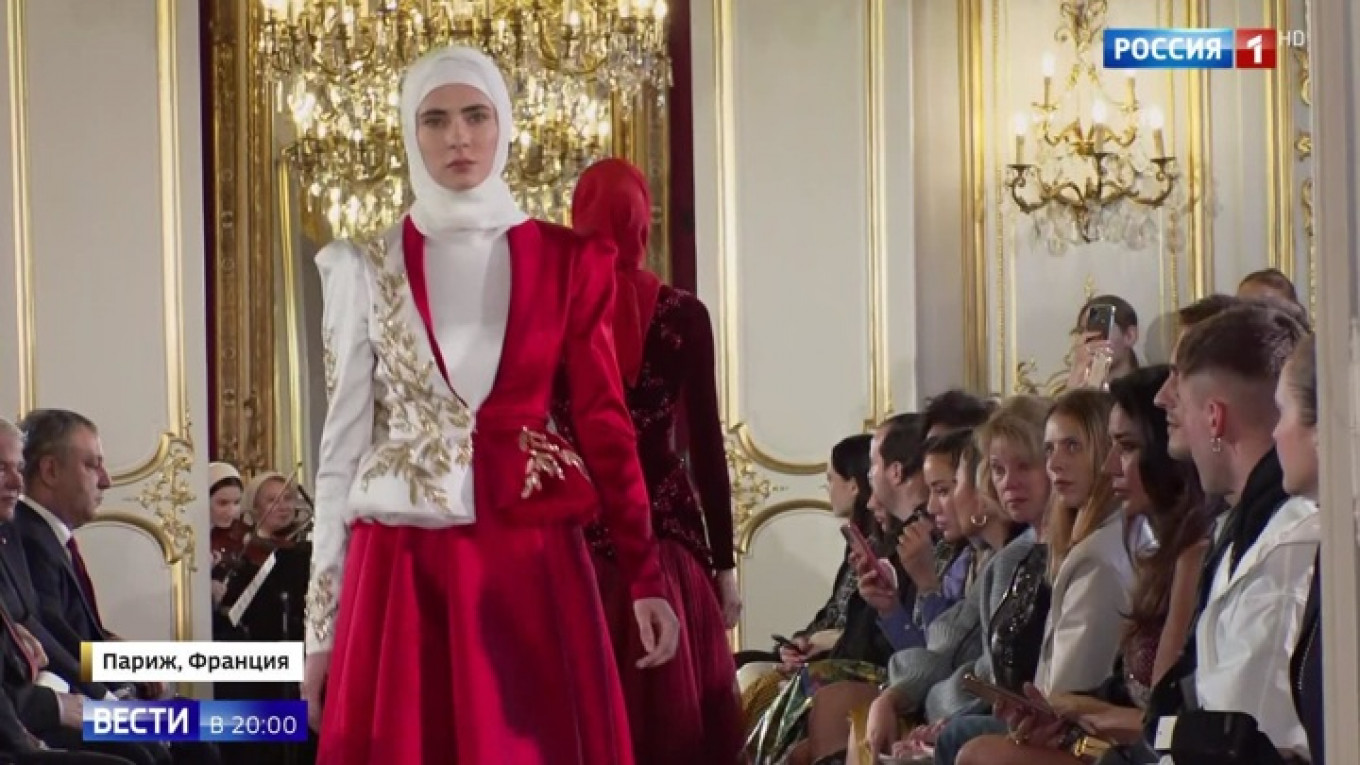 Kadyrov Daughter S Parisian Fashion Debut Is A Slap In The Face The Moscow Times