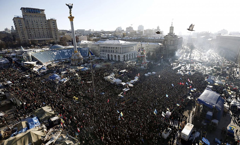 Maidan Nezalezhnosti Zurab Dzhavakhadze / TASS