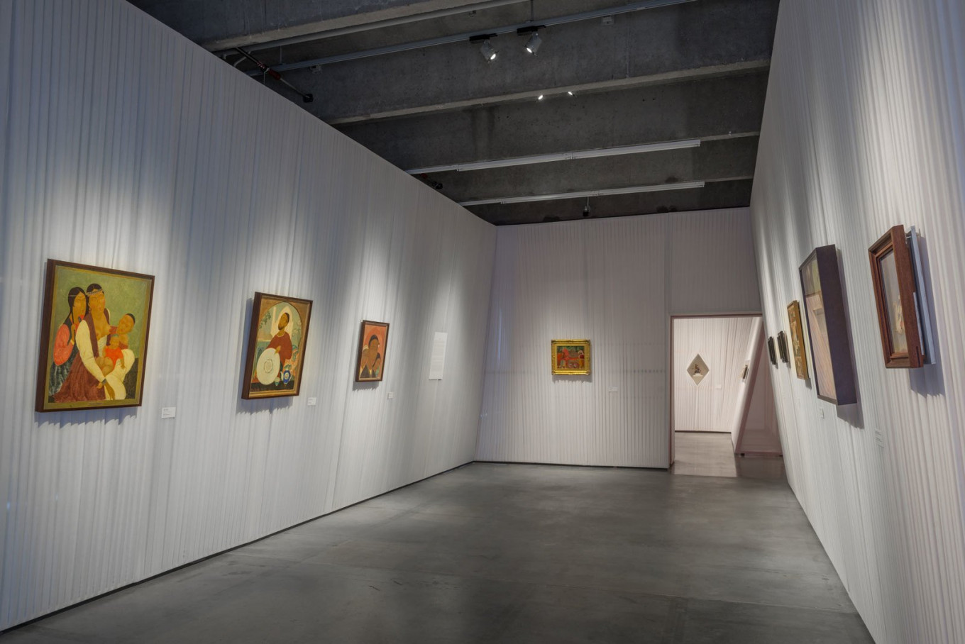 The exhibit reclaims Eastern art as part of the 20th century canon of Soviet art.. Alexey Narodizkiy / Garage Museum of Contemporary Art