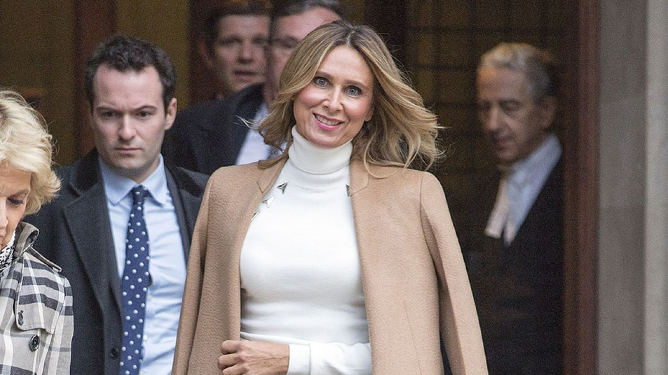 Ex-Wife in Russian Billionaire's Bitter £450M Divorce Wins UK Court Case Against Son – The Moscow Times