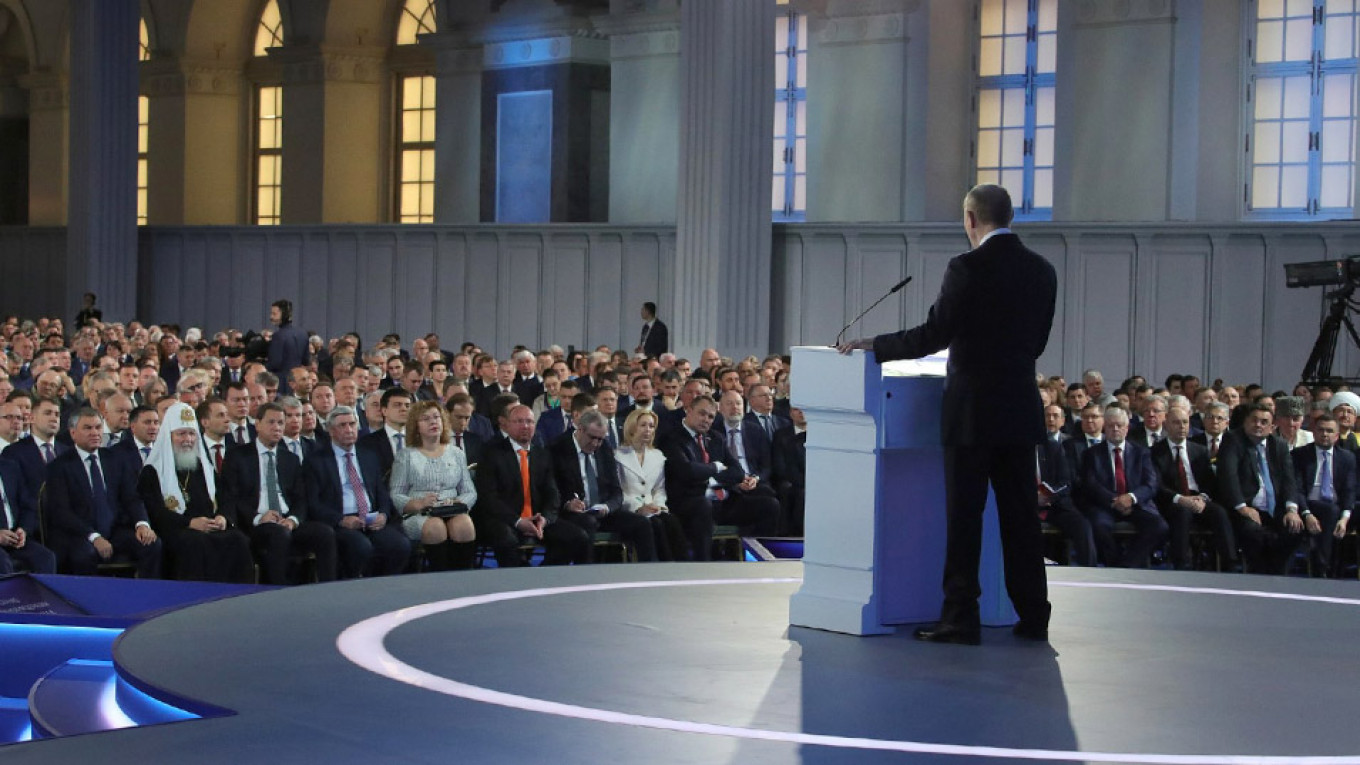 5 Highlights From Putin's State of the Nation Address